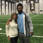 Brittany Wagner and Za'darius Smith
